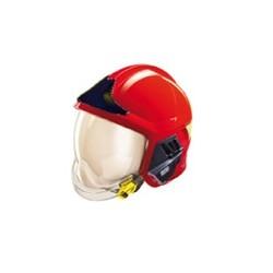 2354 Casco rosso Gallet F1XF certificato CE EN 443:2008 per operatori antincendio